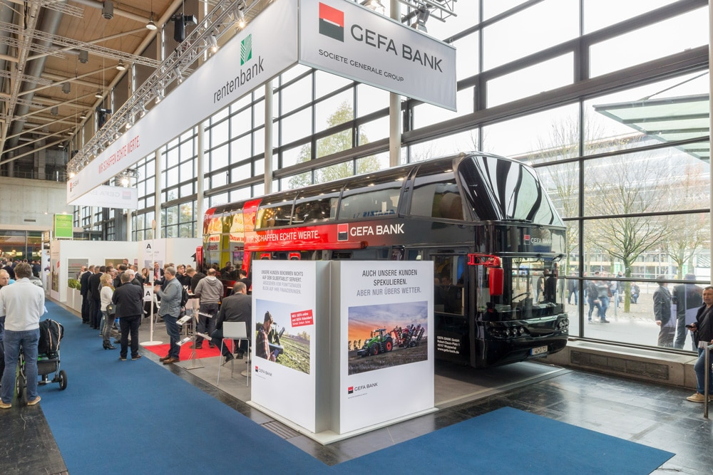 Agritechnica 2017: GEFA Messebus