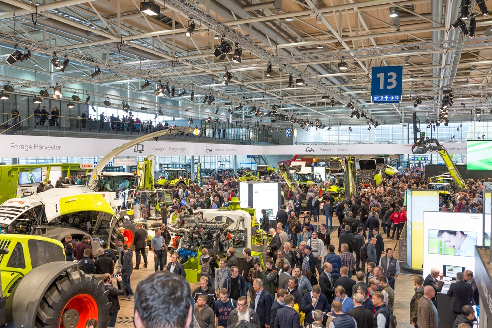 Messehalle Agritechnica 2017