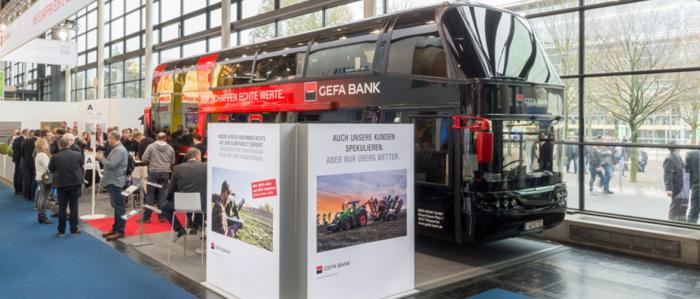 Die GEFA BANK auf der Agritechnica 2017