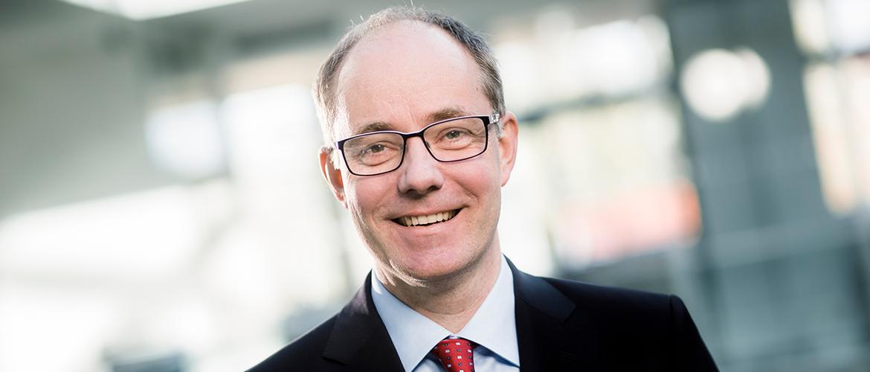 Geschäftsführer der GEFA BANK Dr. Albrecht Haase