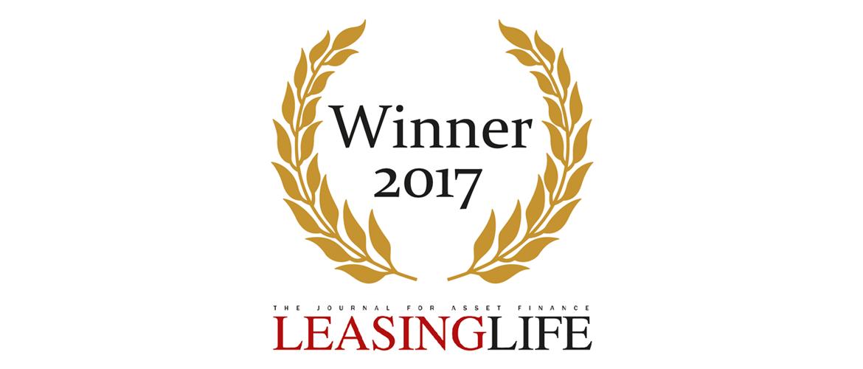 SGEF erhält Leasing Life Award 2017
