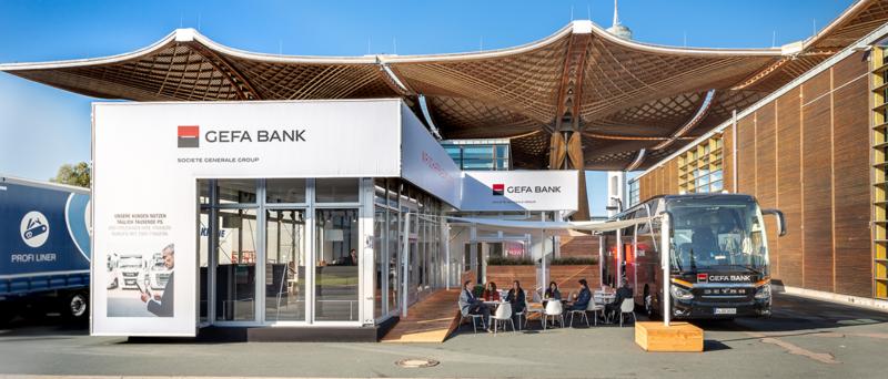 Die GEFA BANK auf der IAA 2018