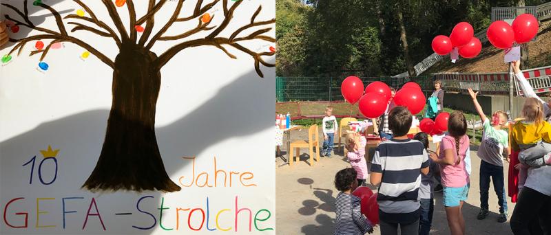 KiTa GEFA-Strolche feiert 10. Geburtstag